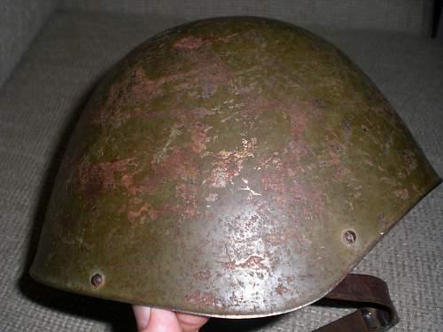 My  m34/39 greek helmet