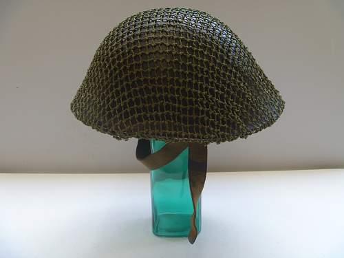 My British Mk IV Helmet