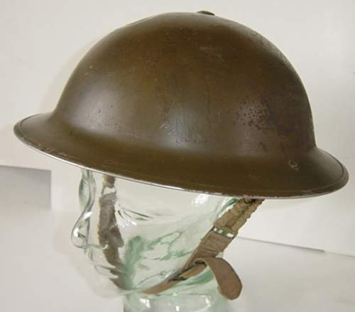 Click image for larger version.  Name:Canadian made steel helmet..jpg Views:73 Size:166.7 KB ID:652681