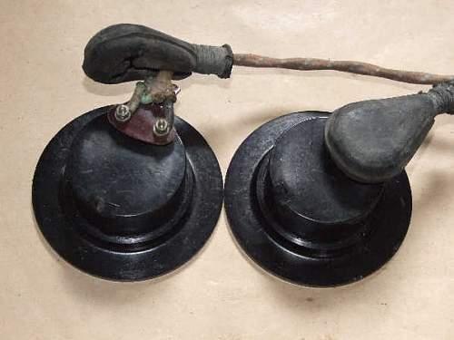 Head phones for Canadian second pattern tankers crash helmet/Mk I HCRAC