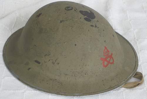 Staffordshire Helmet, MKII