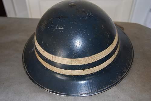 special constable police helmet