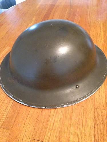 Canadian MKII Helmet