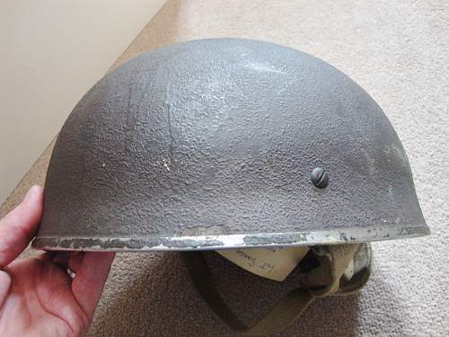Can anyone help with this new find?  para helmet??