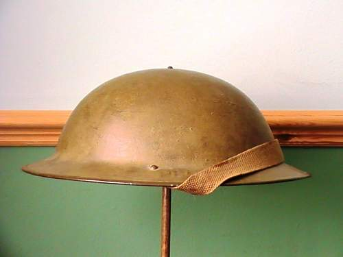 Need a little help with a british helmet
