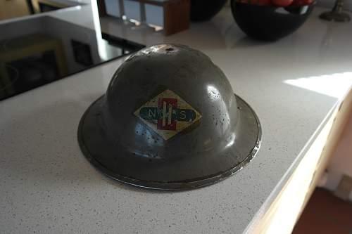 Who used this british helmet