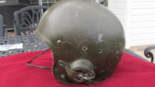 Tank crewmen's helmet info