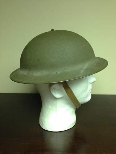 "Minty fresh U.S. M1917A1 ""Kelly"" Helmet"