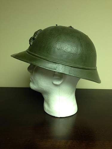 Identifying French Helmet