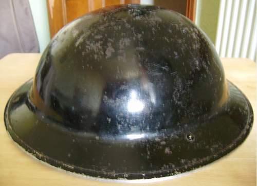 Civil defence helmet ?