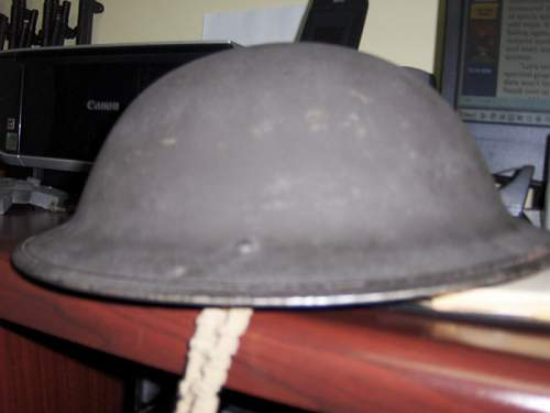 Unknown MkIII helmet