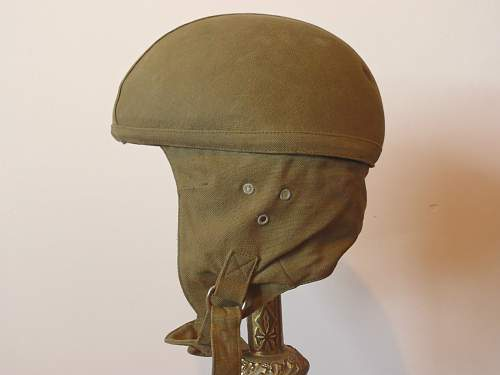 Ww2 french paratrooper cloth helmet?
