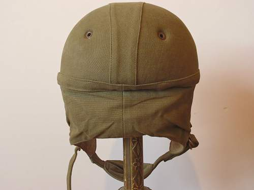 Ww2 french paratrooper cloth helmet?