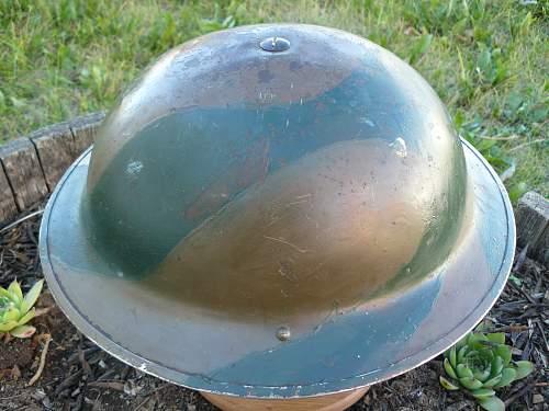 Canadian Mk II brown and green three tone camo