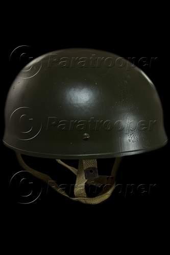 British WWII MKII  airborne helmet