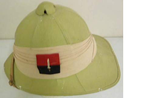 British Pith/Wolseley Helmet, Help needed to ID