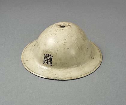 MKII Home Front M.C.C (Lords cricket ground) Helmet.
