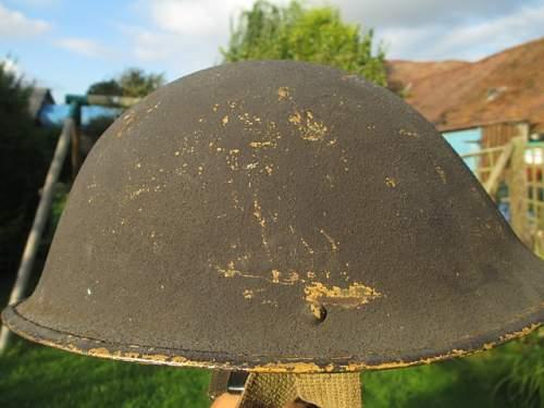 Interesting Mk IV Helmet