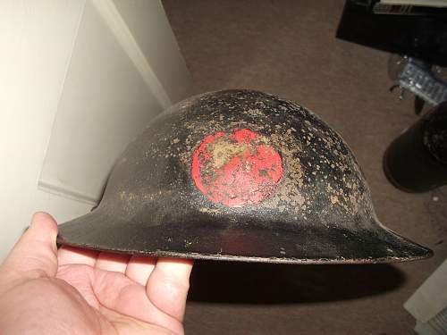 Two MK2 Helmets - Help with insignia