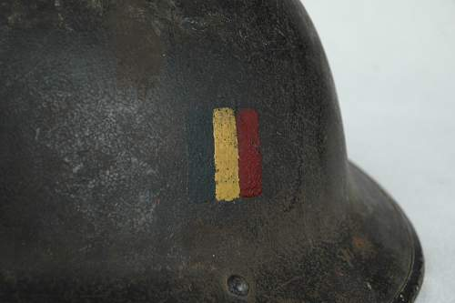 MKII with painted belgian flag
