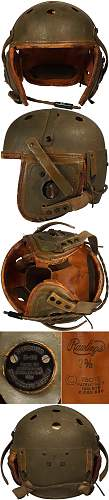 "Tankers Helmet  with only a ""7"" marked - Original?"