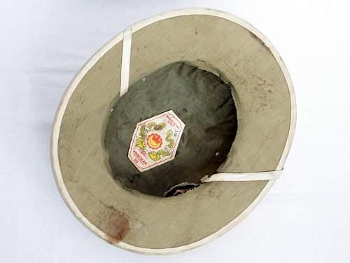 Vietcong helmet? need help