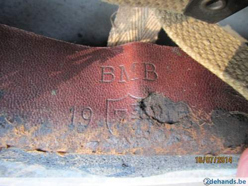 Original British  Airborne helmet?