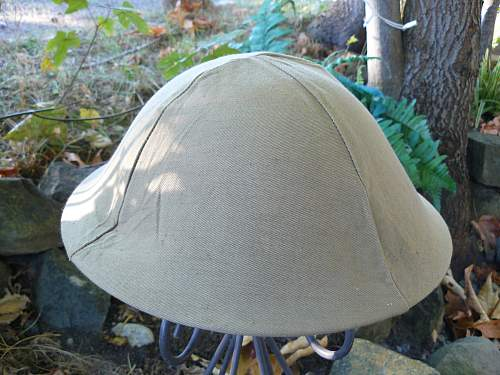 1944 dated cotton tan tropical Mosquitoe cover