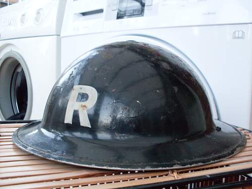 """ex ARP(now """"R"""") MKII HELMET"""