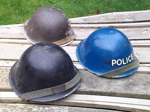 police helmet mkIV