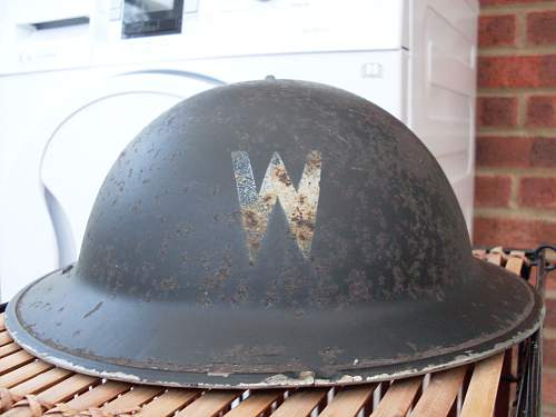 CHURCH WARDENS MKII Helmet.