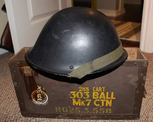 """1952 Mark IV """"Turtle"""" Helmet"""