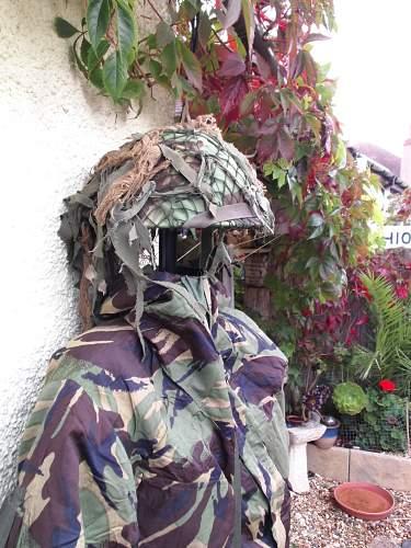 MK V Turtle helmet charity shop find I.D.