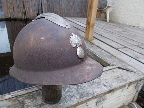 french m26 relic helmet