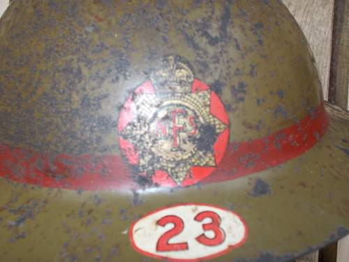 leading fireman nfs worcester helmet