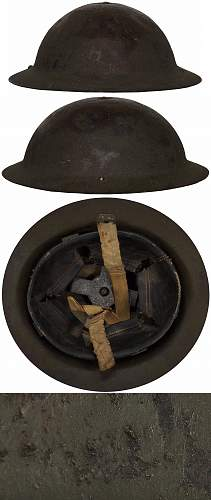 Canadian MkI (Transitional) Helmet.