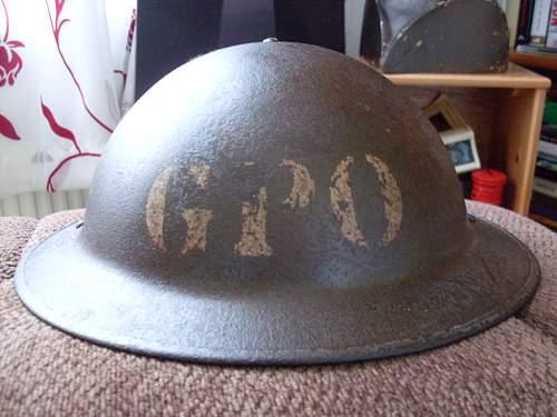Yet Another G.P.O Helmet!!!
