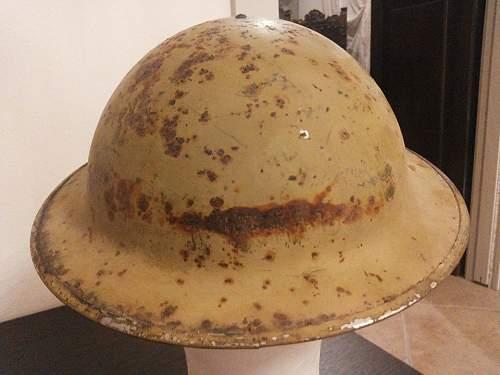 British MK. II Afrika or Italy helmet?