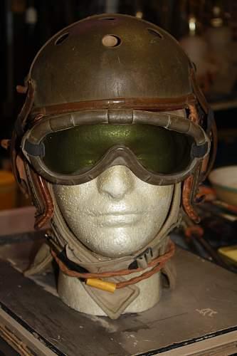 WWII Tankers Helmet