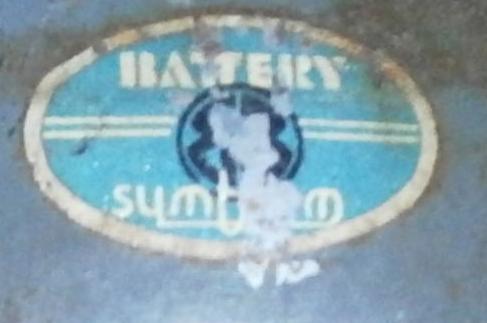 """MKII """"BATTERY SYMBLEM"""" Factory helmet"""