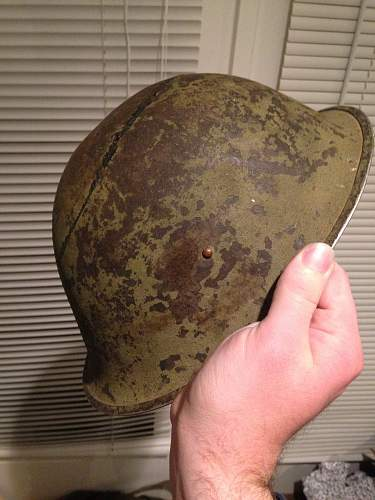 Transitional MKIII/MKIV helmet?