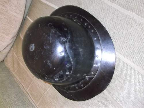 Unusual Cromwell Type Helmet