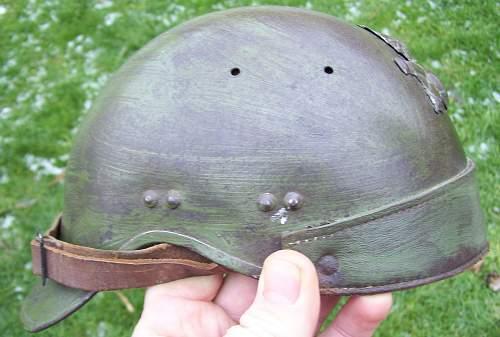 French helmets model 1935