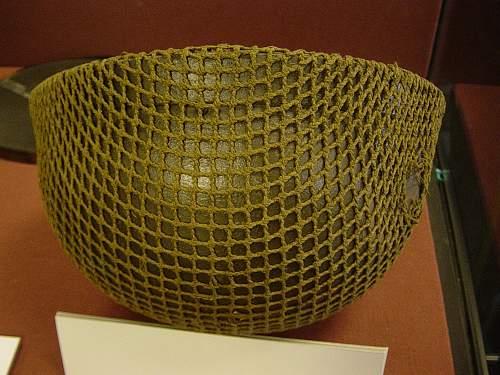 British 1st pattern AFV steel helmet