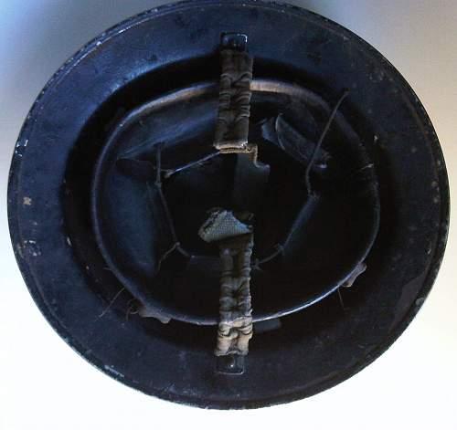 British Wardens Helmet