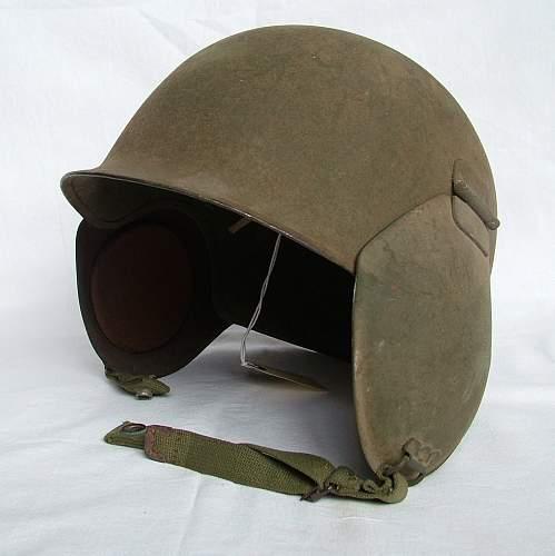 Looking for M3 Flak helmet Cheek plates