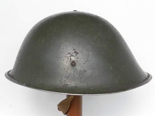 British MkIII helmet color