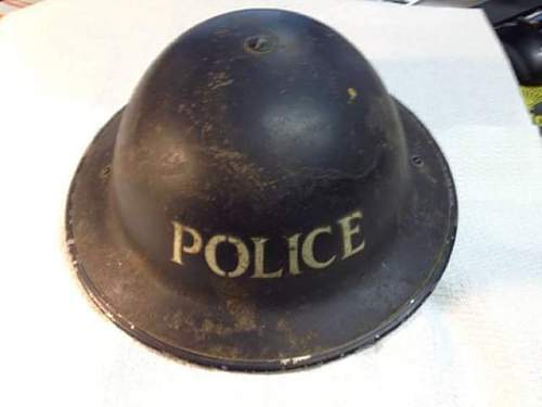 thoughts on this mk2 police helmet