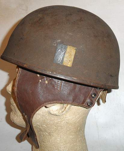 British Motor Cyclist's helmets  of WWII