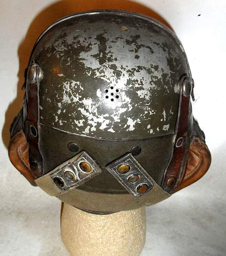 Click image for larger version.  Name:US Helmet Tank metal Maury rear.jpg Views:75 Size:216.5 KB ID:807925